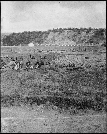 New Zealand Rifle Brigade at Hokowhitu Rifle Range