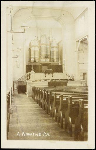 Interior of St Andrews Church, Palmerston North 1