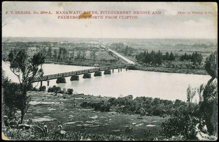 Fitzherbert Bridge, c 1902 1