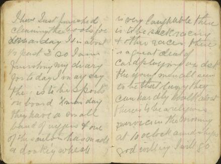 Shipboard diary p36