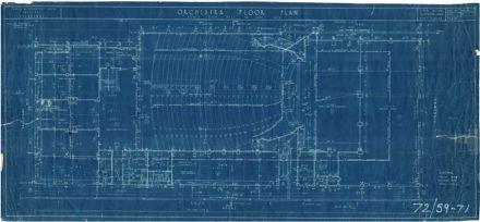 Regent Theatre - Orchestra Floor Plan