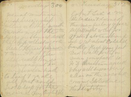 Shipboard diary p42