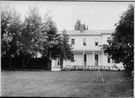 Grounds of Carow Ladies' College