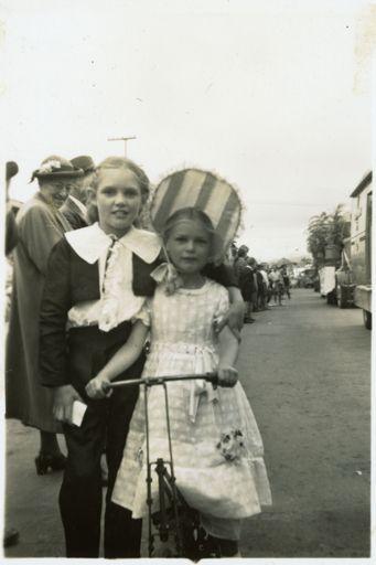 Children in Costume - 1952 Jubilee Celebrations