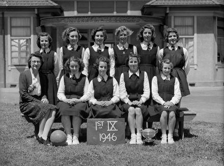 Palmerston North Intermediate Normal School Basketball First IX
