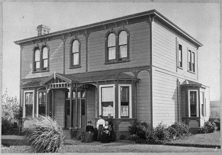 Residence of Joseph Beale, Rangitikei Street