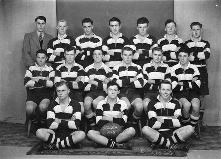 Palmerston North Boys' High School 2nd XV Rugby Team