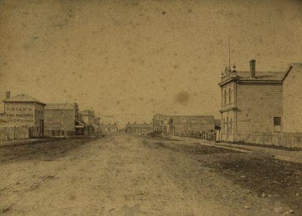 Rangitikei Street looking towards The Square