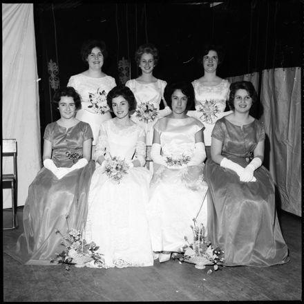 """They Presented Dignity and Charm"" [Debutantes at Masonic Ball]"