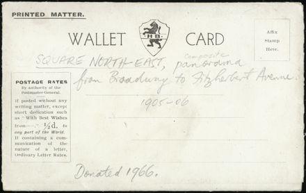 Postcard Wallet - Palmerston North Views 1