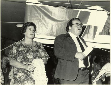 Joe and Eileen Walding, Palmerston North