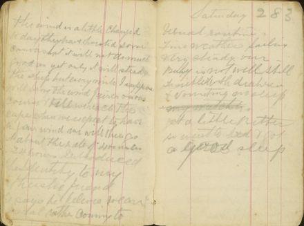 Shipboard diary p40