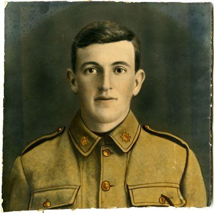 Portrait of Frank Cammock 1