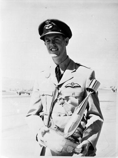 """Flying Officer J.L. Mills."" Awards"