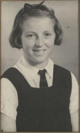 Valerie Birch - Head Prefect, 1942 and 1943