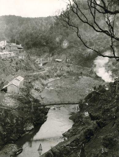 Construction Camp - Mangahao Electric Power Scheme