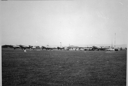 N.A.C. Viscounts at Milson Airport, Palmerston North