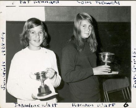 West End Amateur Swimming Champions - Jaquiline Watt / Raewyn Watt