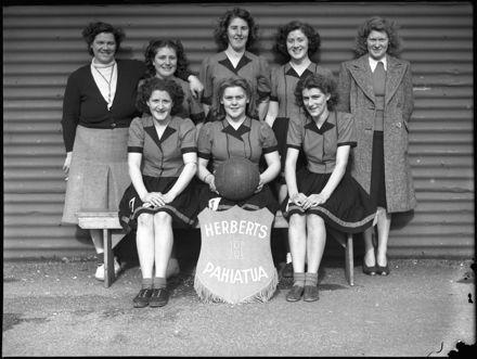 Women's Indoor Basketball team, Pahiatua