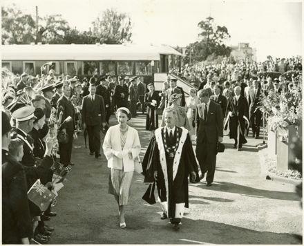 Queen Elizabeth II in Palmerston North