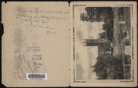 Souvenir of Palmerston North, N.Z. 2