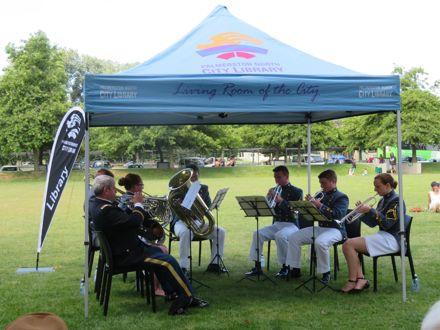 Virginia Military Institute Brass Ensemble concert in The Square