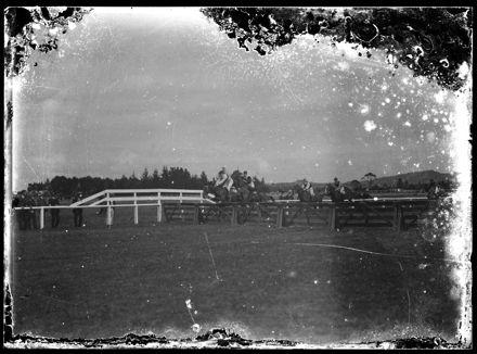 Paddock, Unidentified Racetrack