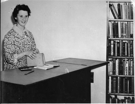 Jean Brown, Hokowhitu Branch Librarian