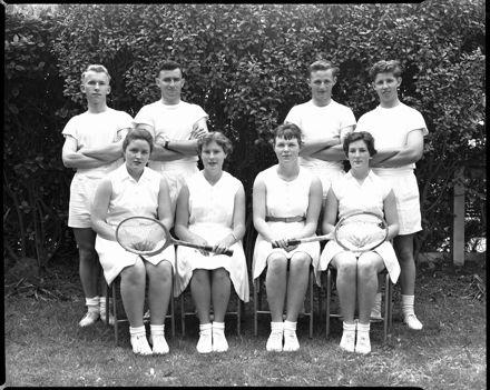 Tennis Team, Palmerston North Teachers' College