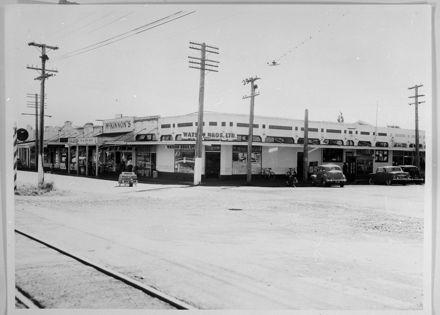 Corner of Ruahine and Main Streets
