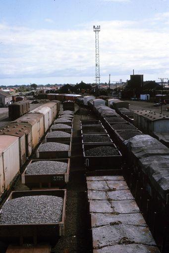 Freight Cars - Palmerston North Railway Yards