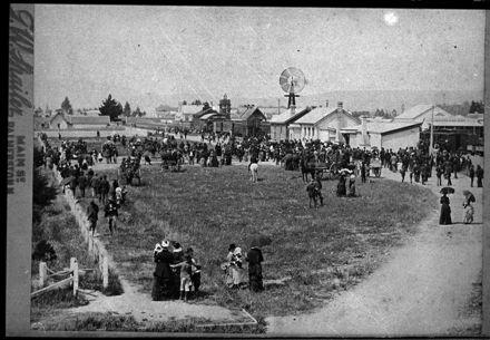 Opening of the Wellington and Manawatu Railway Company Line