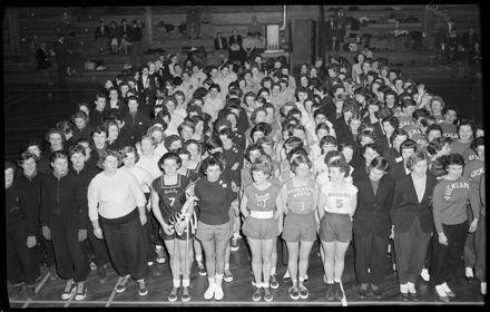 """Girls, Girls, Girls Galore"" -- New Zealand Indoor Basketball Championships"