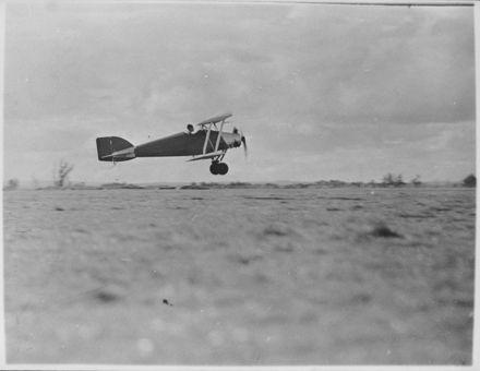 Darby West in Alexander Radford's Plane