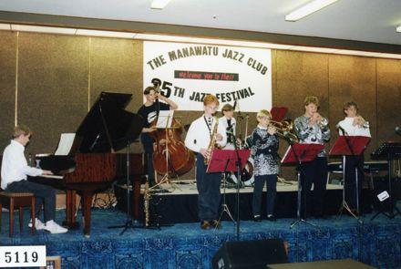 Black and White Jazz Band, Manawatū Jazz Festival