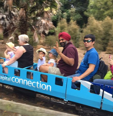 #MyEsplanade - Riding the Esplanade Scenic Railway