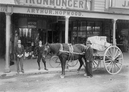 Arthur Hopwood's Ironmongery, The Square