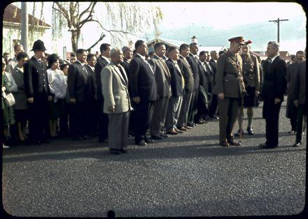 Opening of Māori Battalion Hall