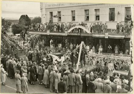 Palmerston North 75th Jubilee celebration parade