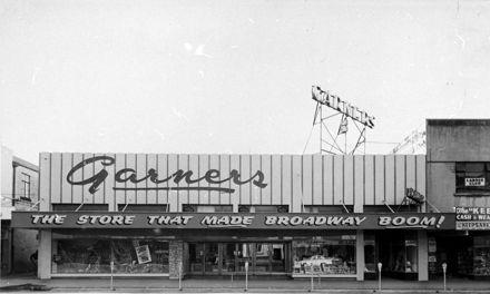 Garners department store, Broadway