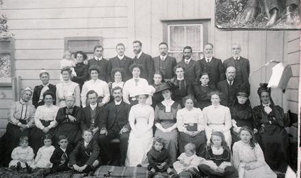 William and Fanny Whitten's Wedding, Ashhurst