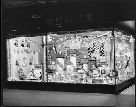 Beggs' Shop Christmas Window