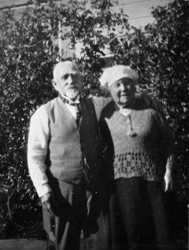 Mr and Mrs Solomon Abrahams