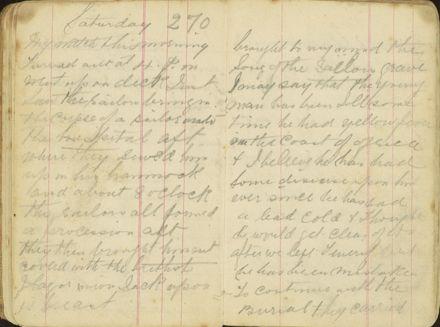 Shipboard diary p26