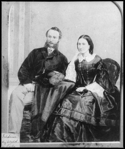Sir Fredrick Aloyisius Weld and his Wife