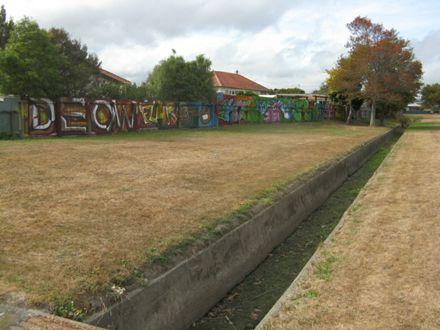 Graffiti at Norton Park 4