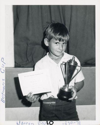 West End Amateur Swimming Champions - Warren Devley