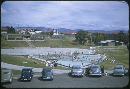 Paddling pool at Memorial Park