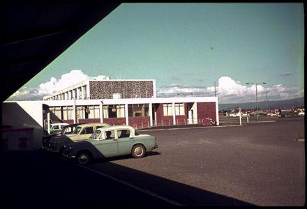 New Palmerston North Railway Station