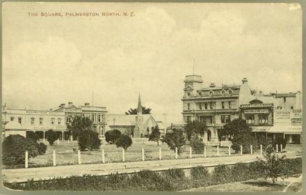 Postcard of Church Street West